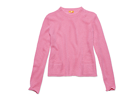Women Tops Cashmere Crewneck Sweater