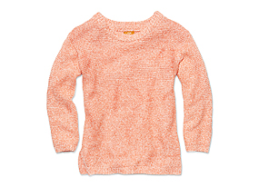 Women Tops Marled Sweater
