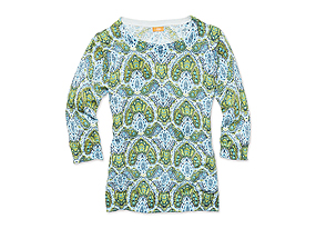 Women Tops Print Sweater