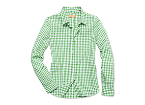 Women Tops Check Shirt