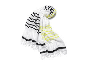 Women Shoes + Accessories Stripe Scarf