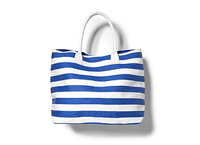 Women Shoes + Accessories Stripe Beach Tote