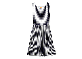 Women Skirts/dresses Stripe Jersey Dress