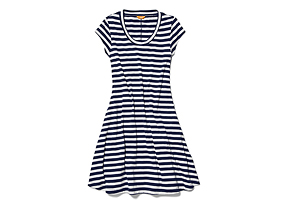 Women Skirts/dresses Stripe Swing Dress