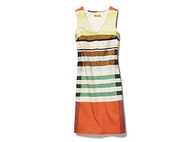 Women Skirts/dresses Vneck Stripe Dress