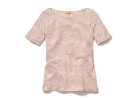 Women Tops Mini Stripe Tee