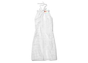 Women Swim Eyelet Cover Up