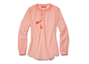 Women Tops Neon Boho Blouse