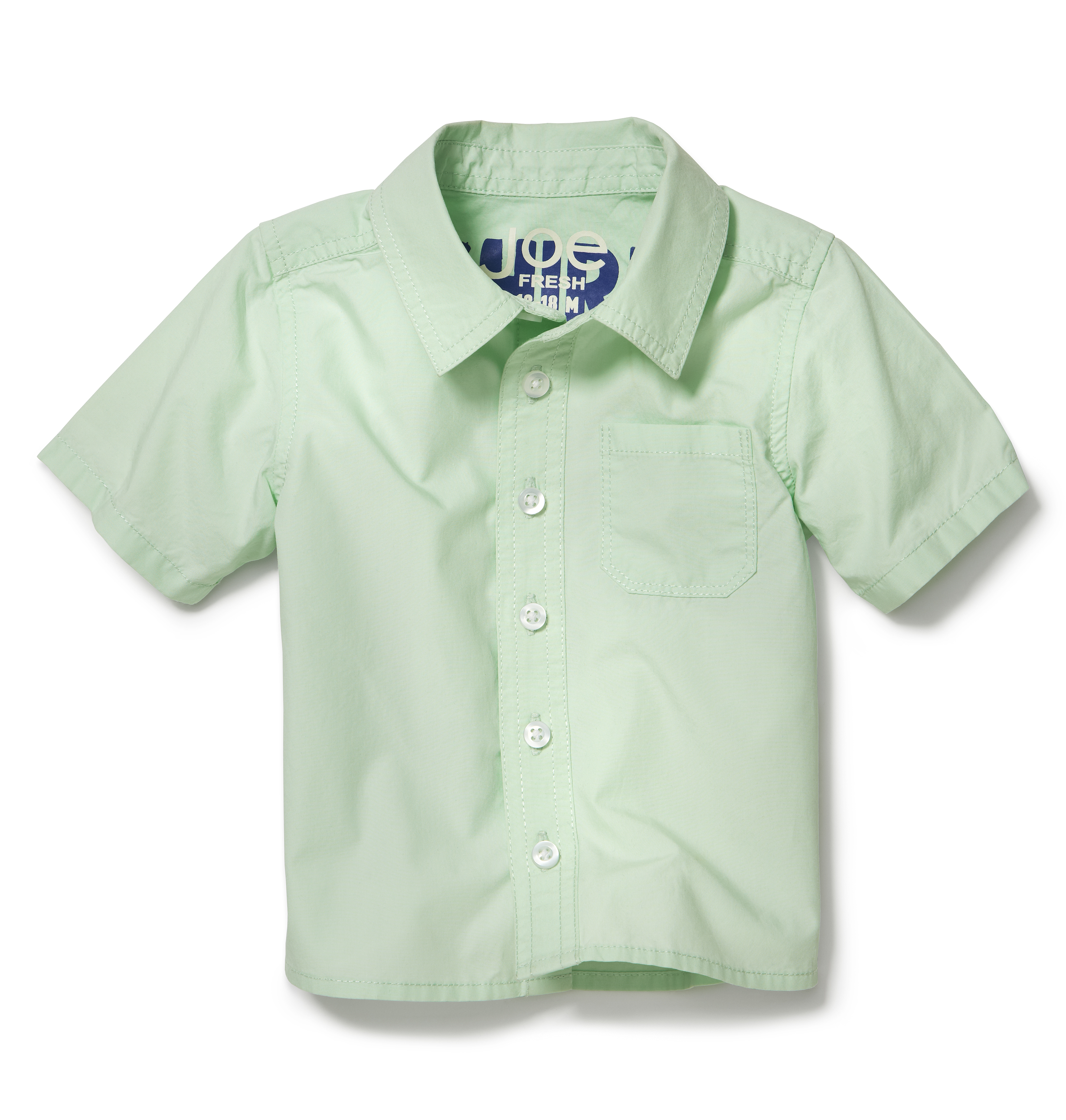 Kids Baby Boy Short Sleeve Shirt High-res