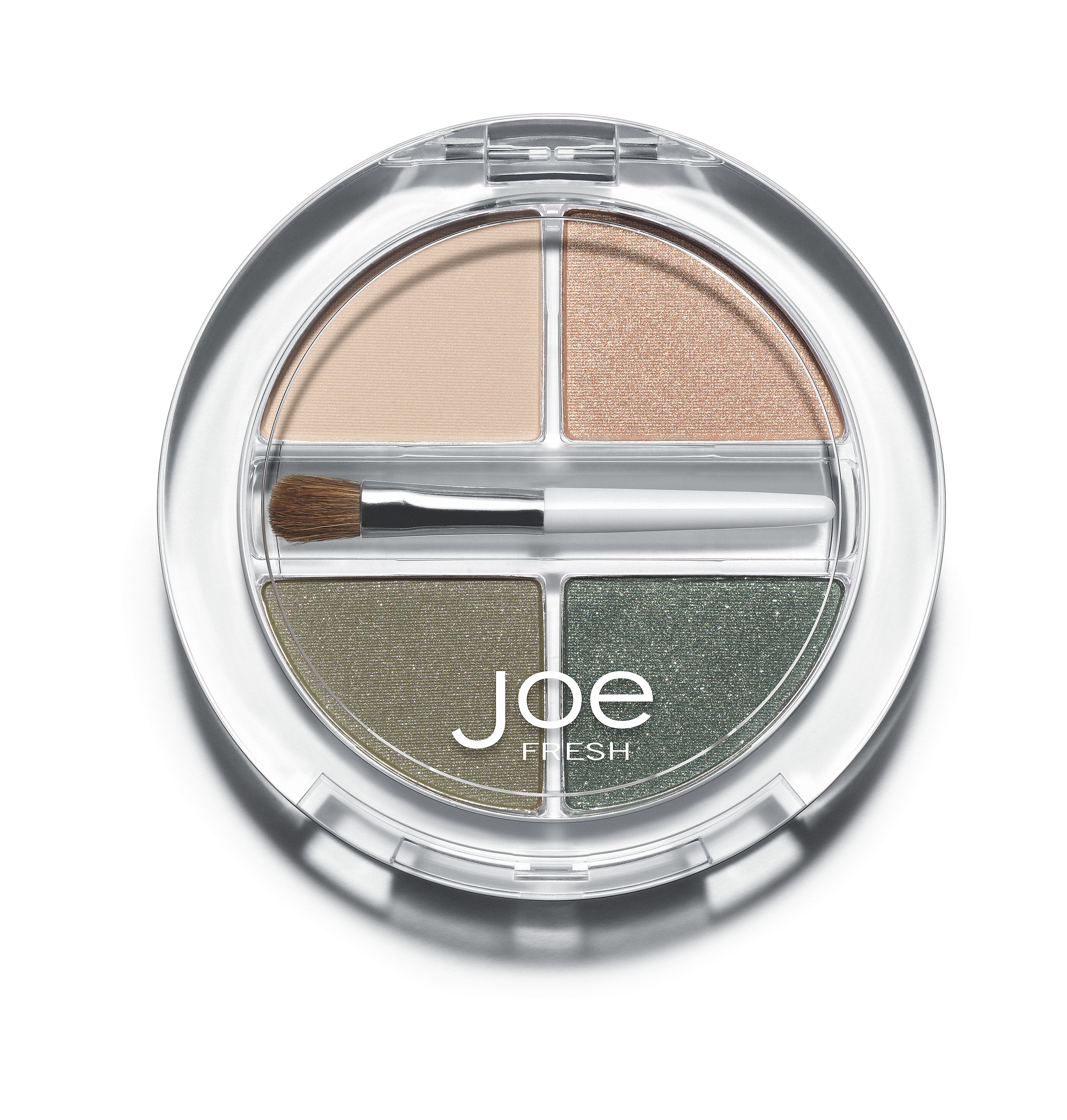 Beauty Eyes Eye Shadow Quad, Khaki Combo High-res