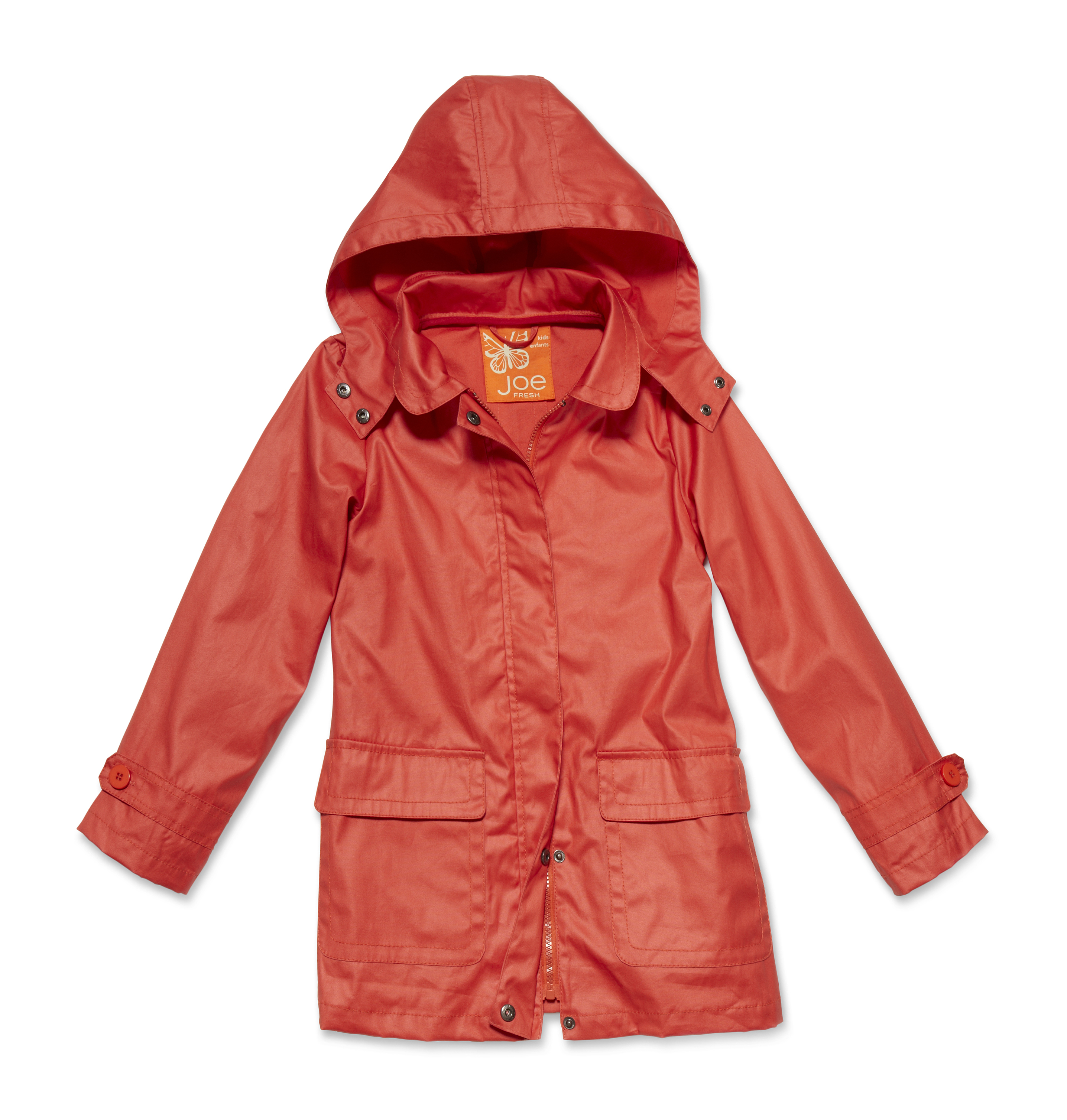 Kids Kid Girl Raincoat High-res