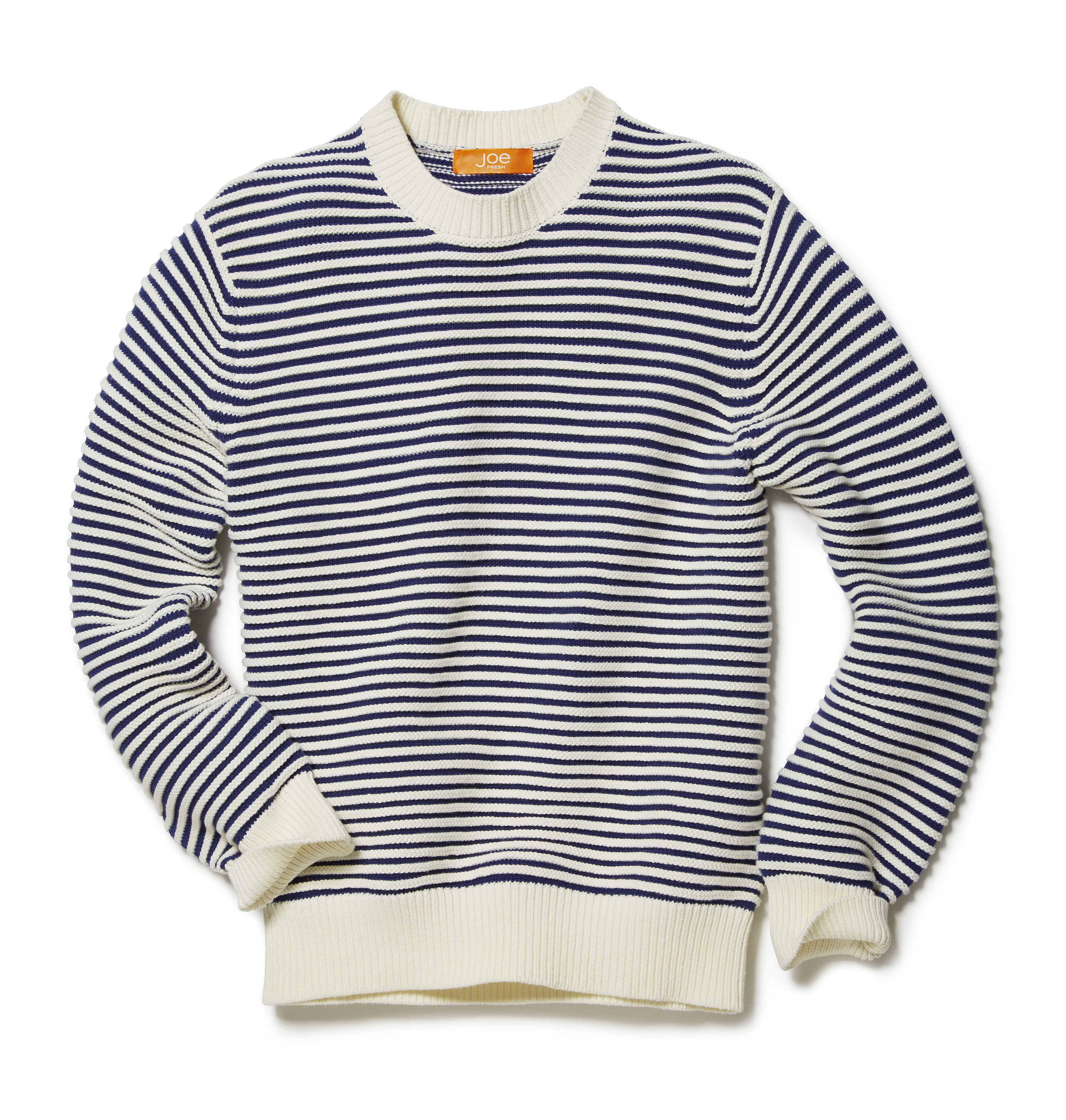 Men Tops Stripe Sweater High-res