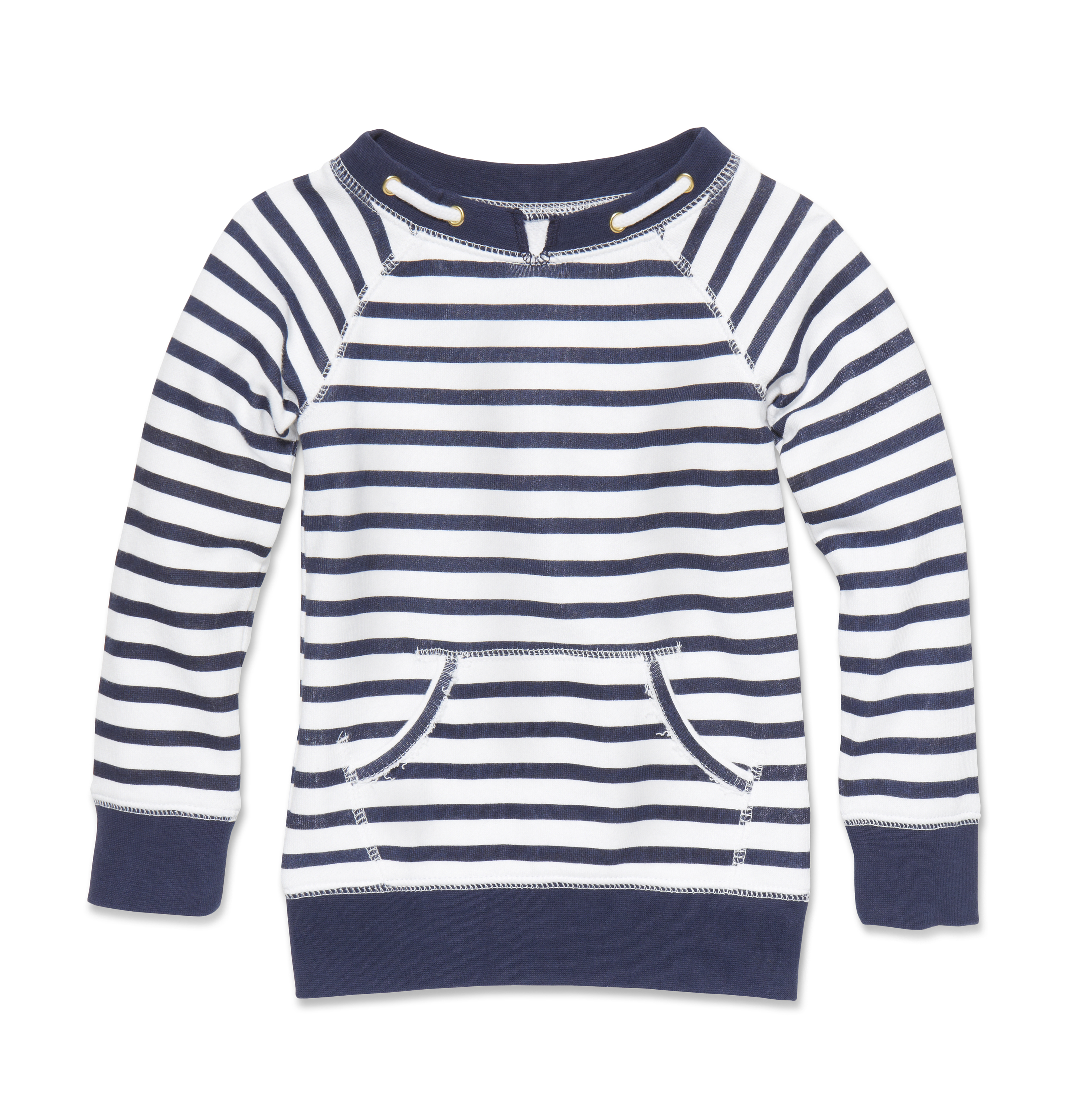 Kids Toddler Girl Stripe Sweatshirt High-res