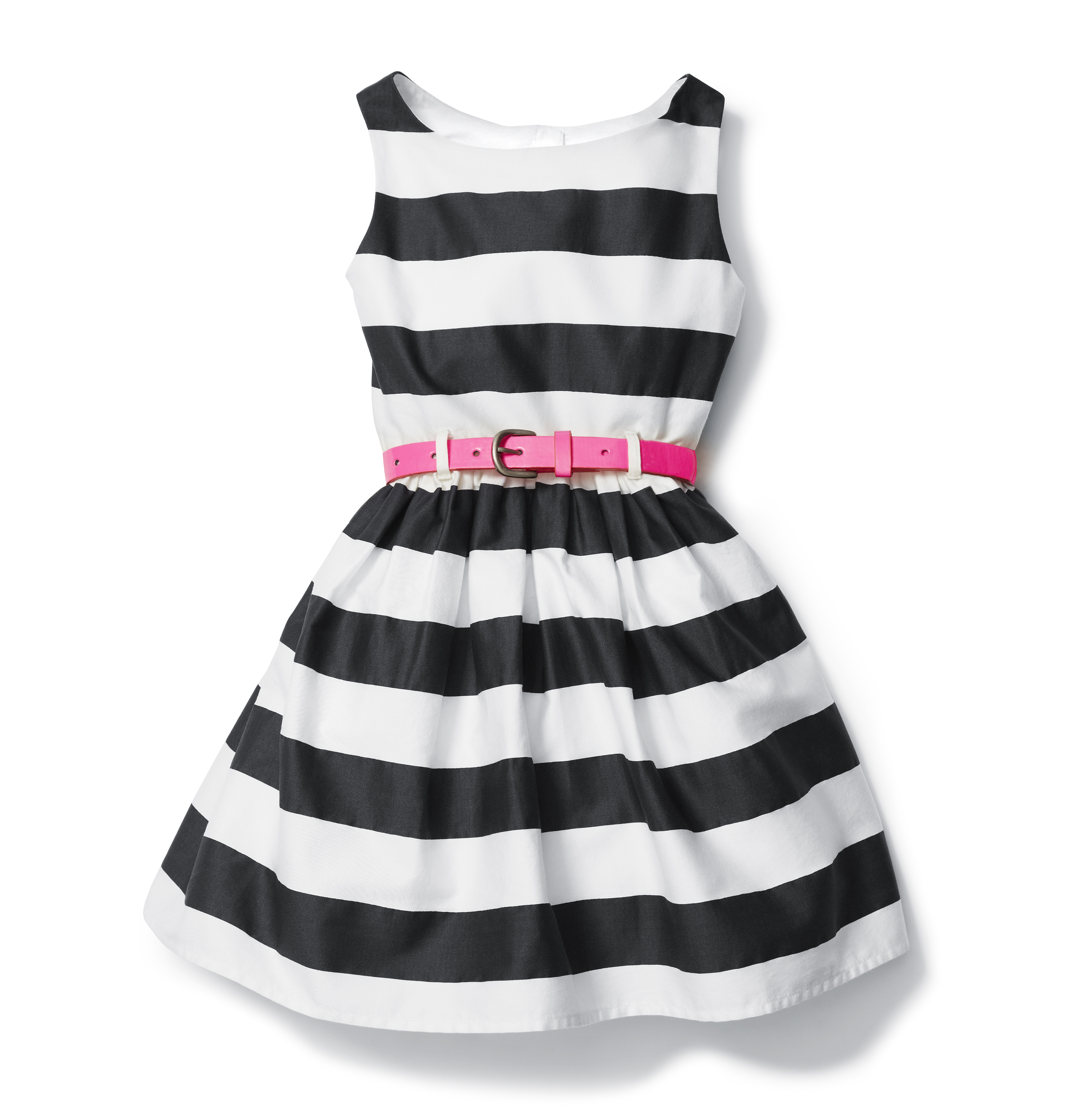 Kids Toddler Girl Belted Dress High-res