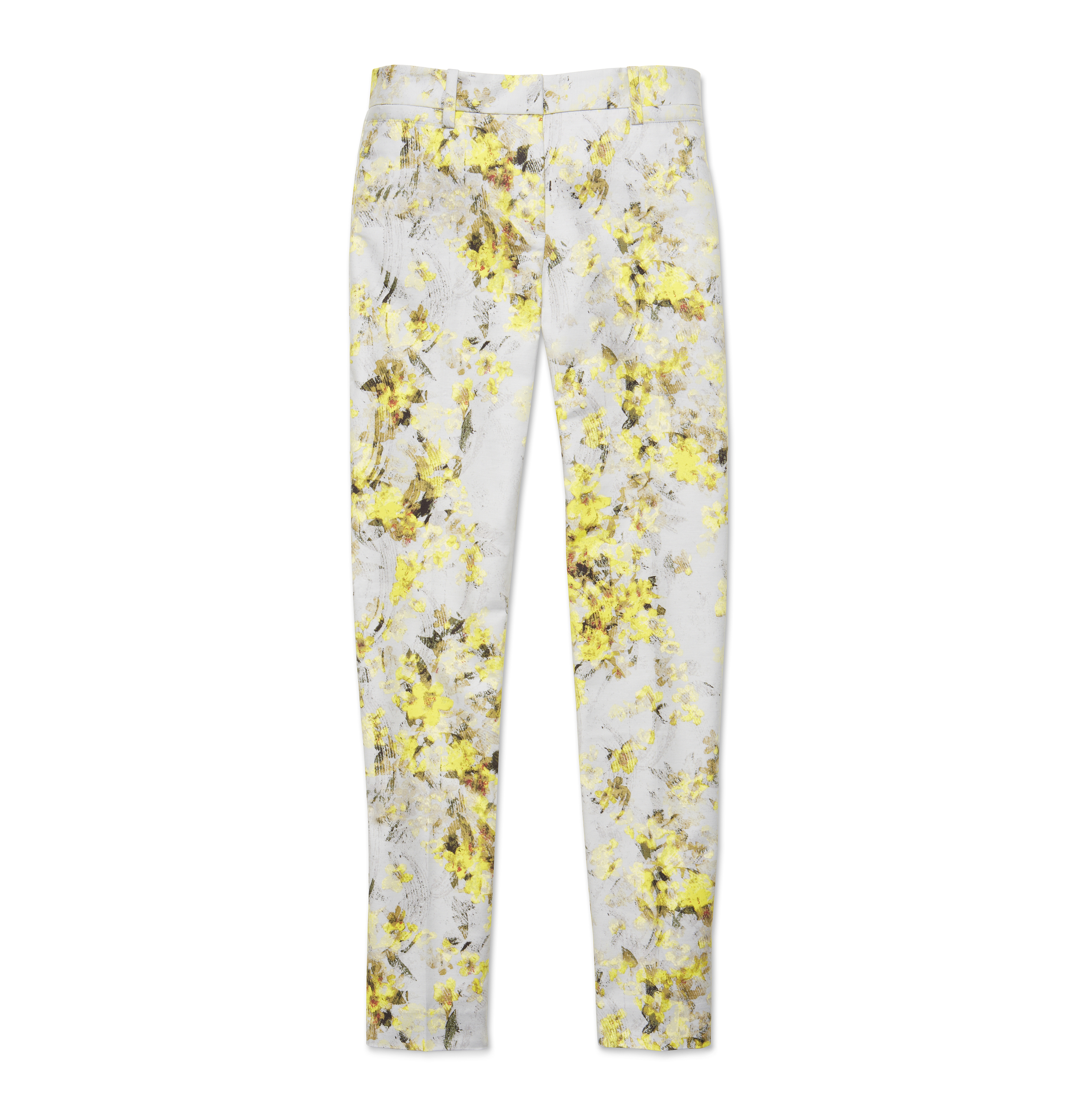 Women Pants/shorts Slim Print Pant High-res