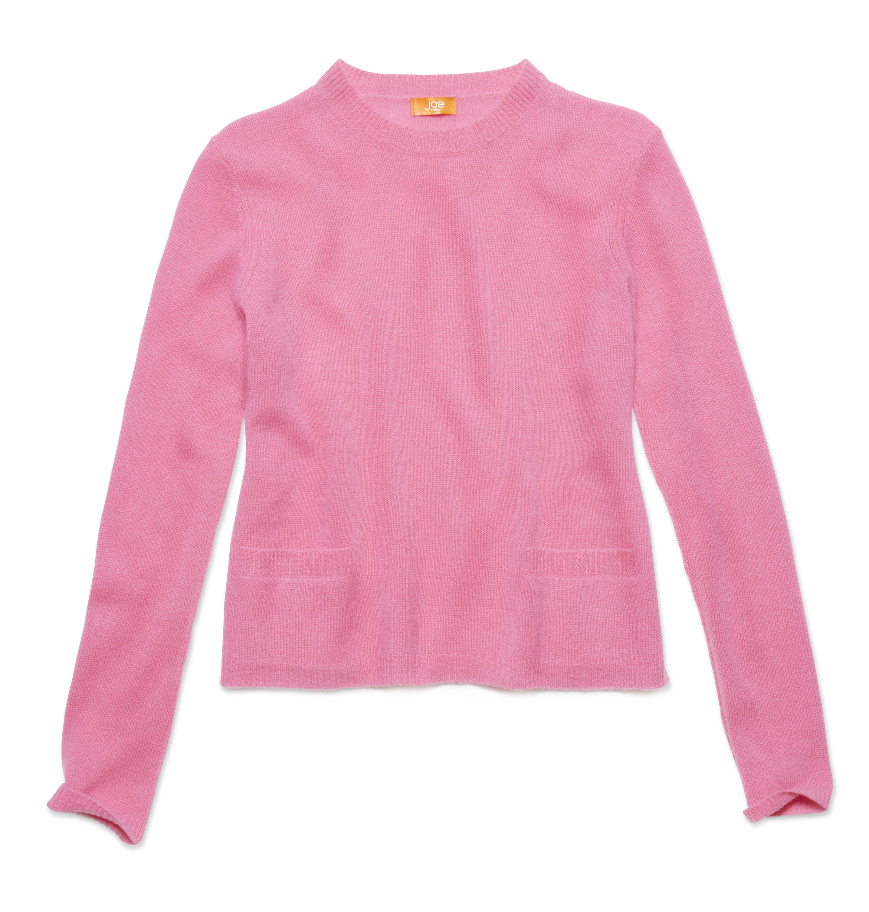 Women Tops Cashmere Crewneck Sweater High-res