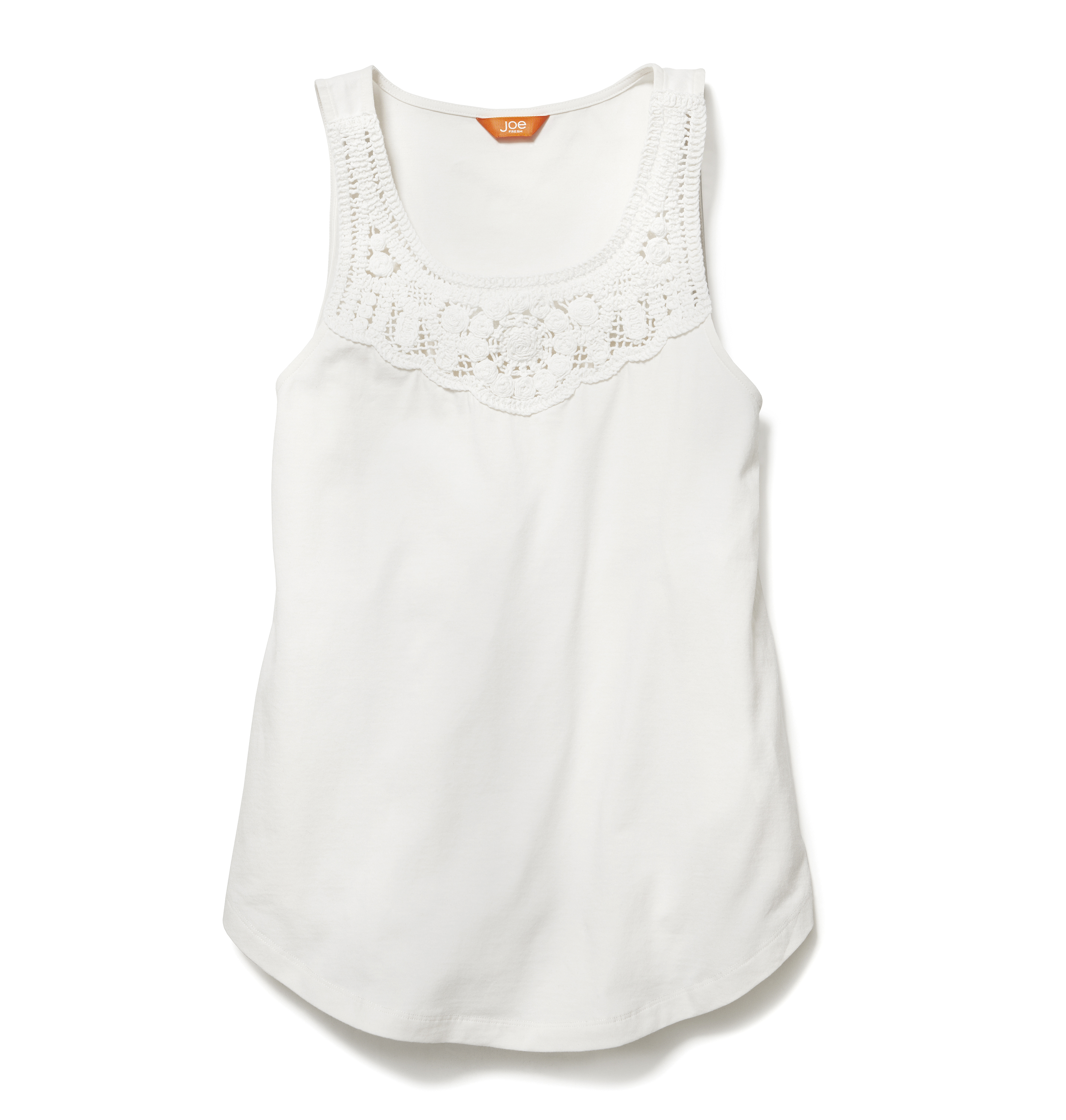 Women Tops Crochet Tank High-res