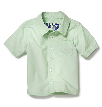 Kids Baby Boy Short Sleeve Shirt Low-res