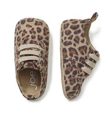 Kids Baby Girl Leopard Print Shoe Low-res