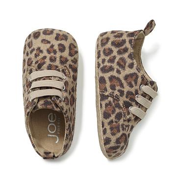 Kids Baby Girl Leopard Print Shoe Low-res