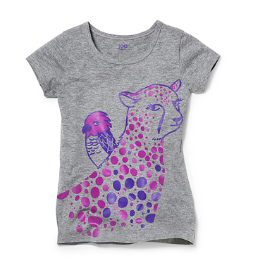 Kids Kid Girl Graphic Tee Low-res