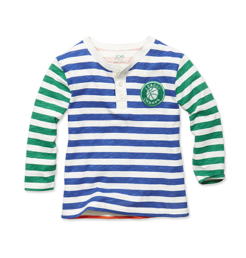 Kids Toddler Boy Stripe Longsleeve Tee Low-res