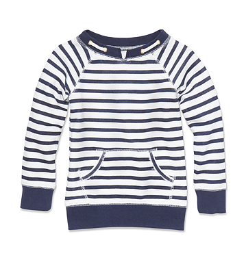 Kids Toddler Girl Stripe Sweatshirt Low-res