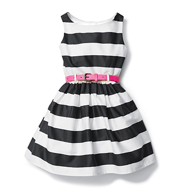 Kids Toddler Girl Belted Dress Low-res