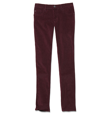 Women Pants Corduroy Jean Low-res