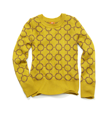 Women Tops Jacquard Crew Low-res