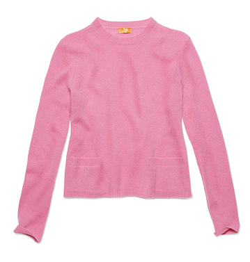 Women Tops Cashmere Crewneck Sweater Low-res