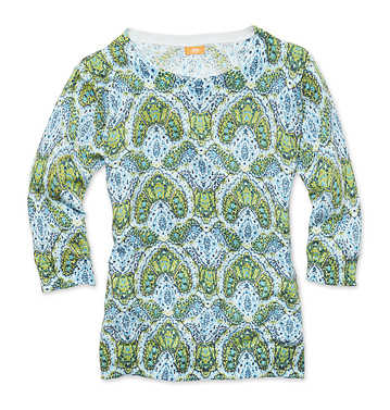 Women Tops Print Sweater Low-res