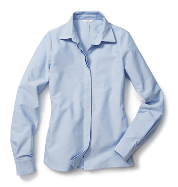 Women Tops Button Down Shirt Low-res