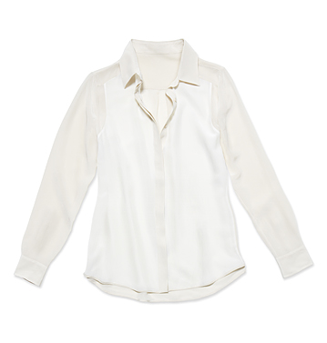 Women Tops Silk Shirt Low-res