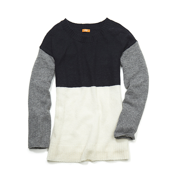 Women Tops Tricolour Sweater Low-res