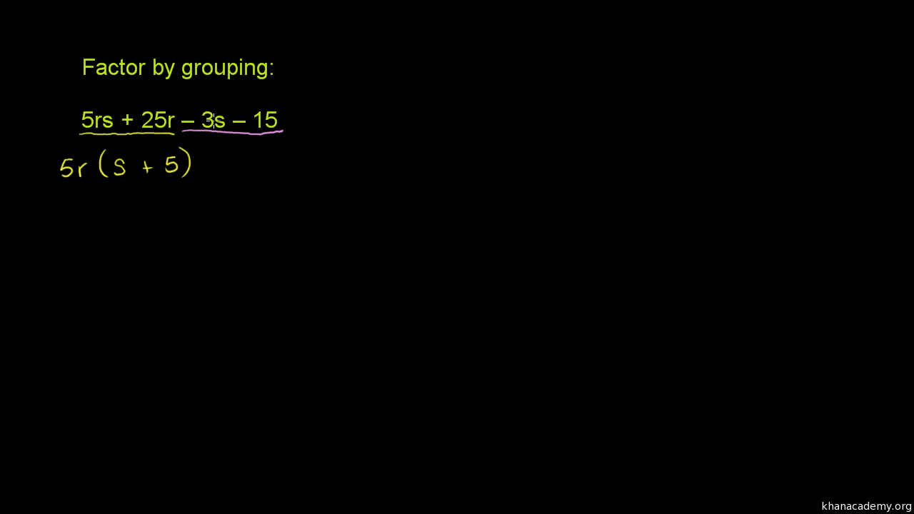 factoring grouping two and dating