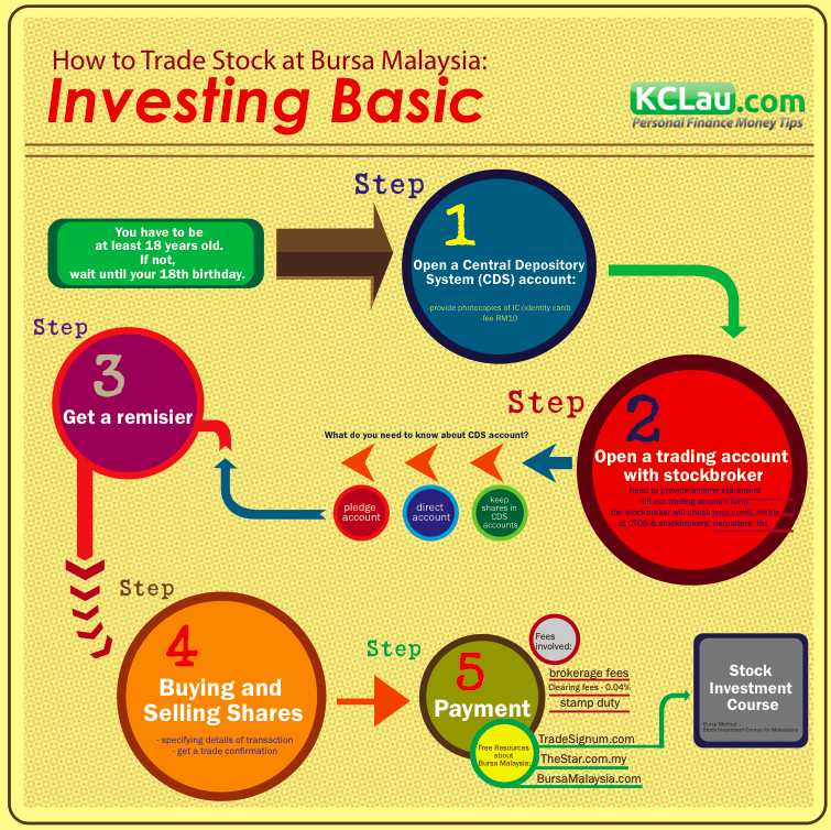 Stock Investment Guide Infographic