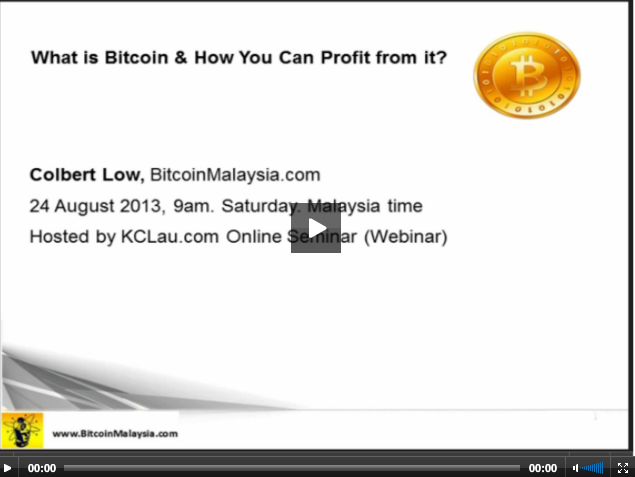 For Premium Webinar Members, you can watch the full explanation about  Bitcoin, and how you can buy, sell and profit from it here: