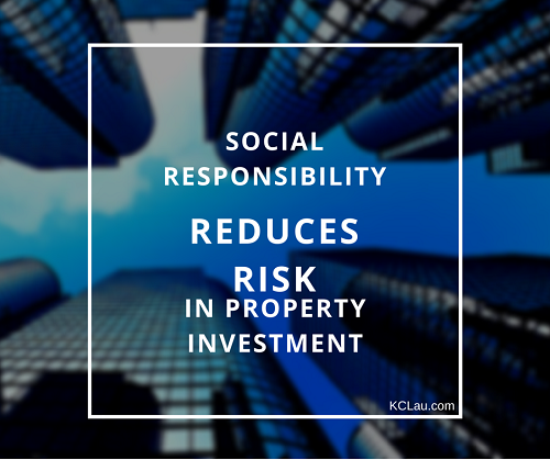 Social responsibility in property investment