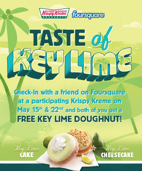 krispy kreme foursquare key lime