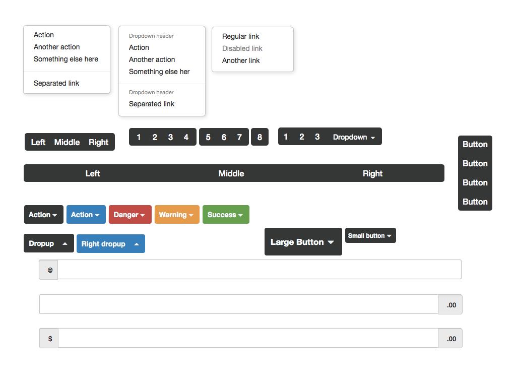 Twitter Bootstrap UI Mockup & Design Templates | Keynotopia