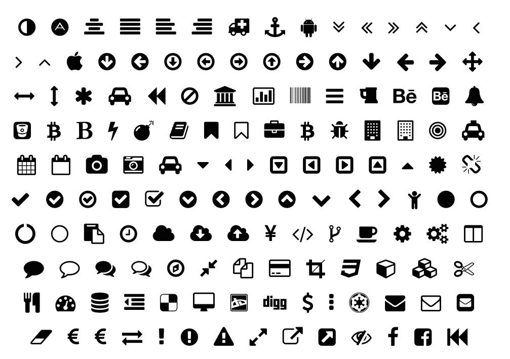 FontAwesome Text Icons.002