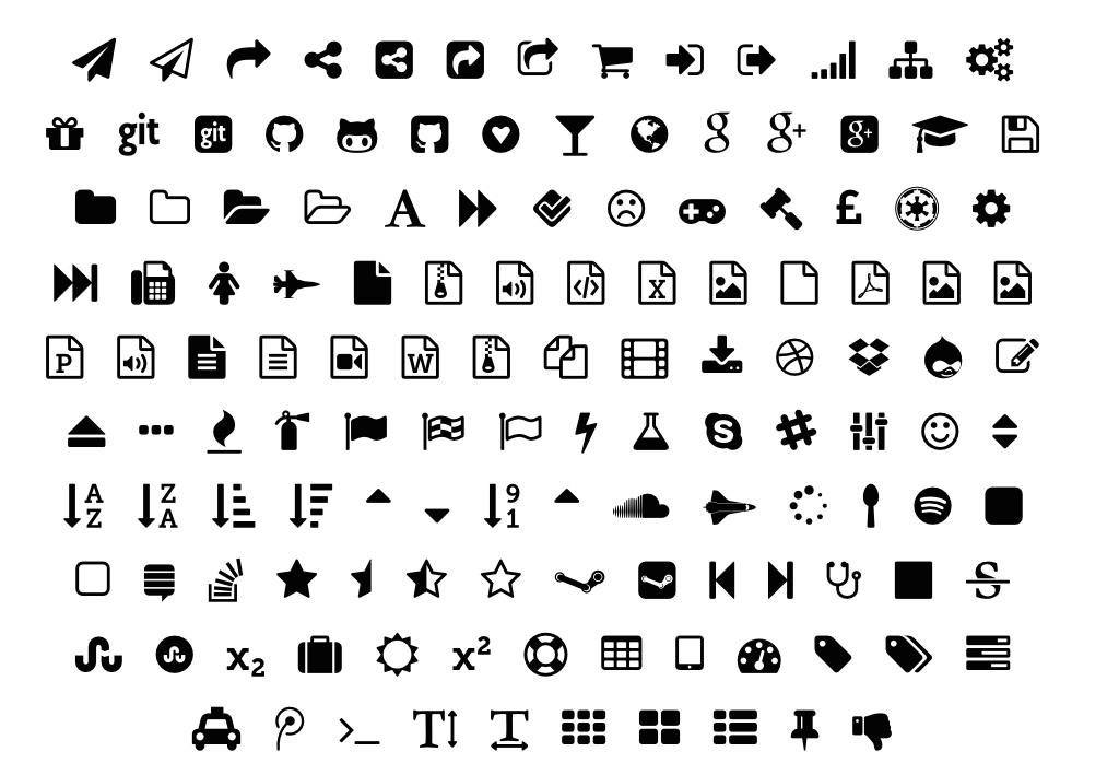 FontAwesome Text Icons.004