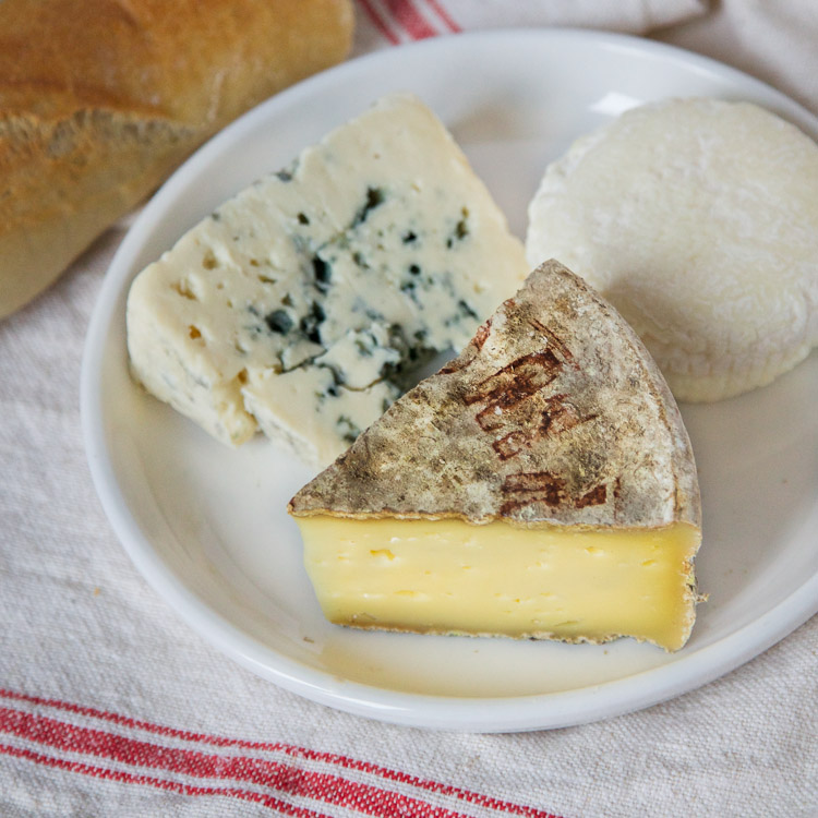 French cheese Tomme de Savoie