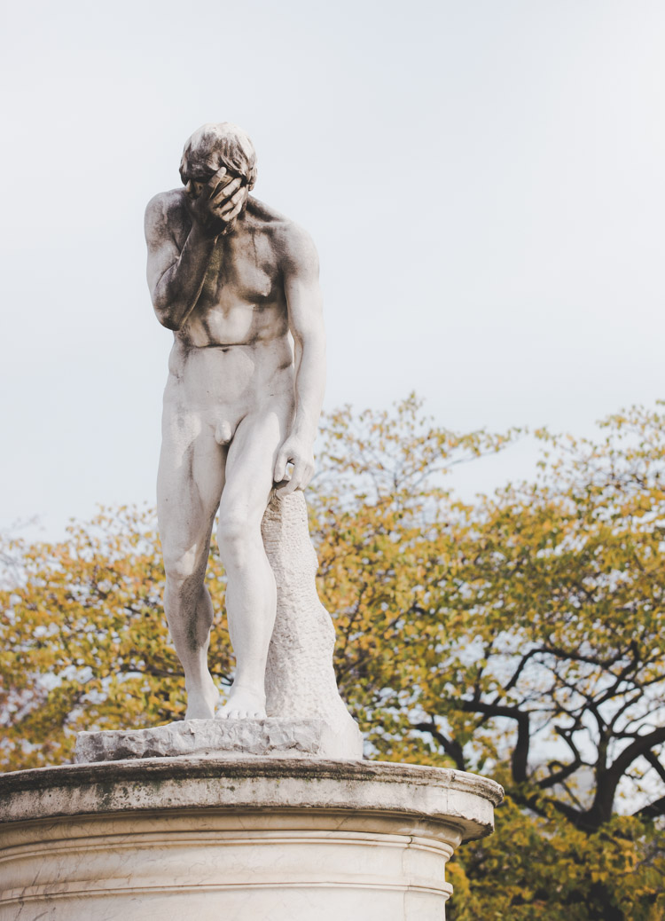 Paris Tuileries Cain Henri Vidal