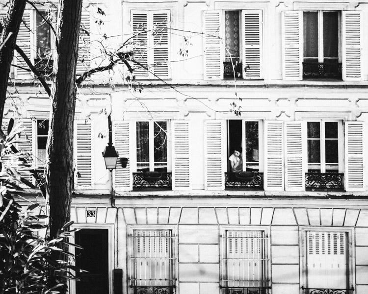 Paris Montmartre Windows