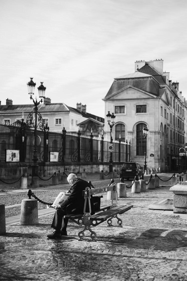 Parisians in Paris