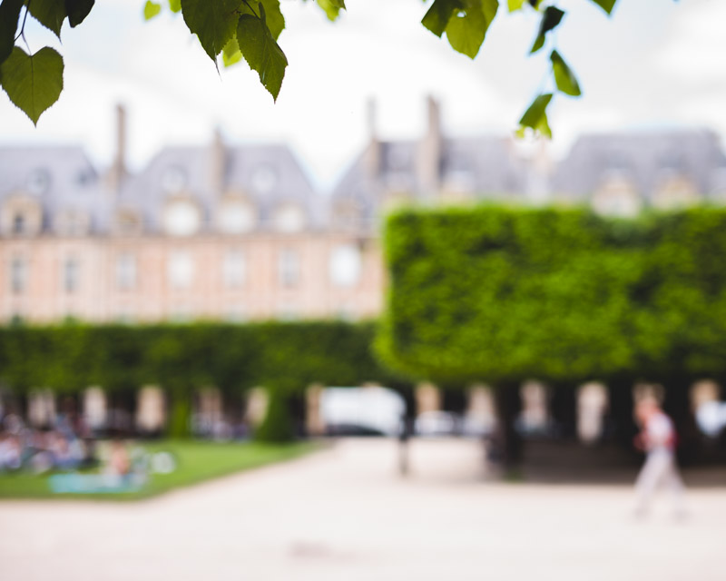 Paris Place des Vosges by Catherine Goron