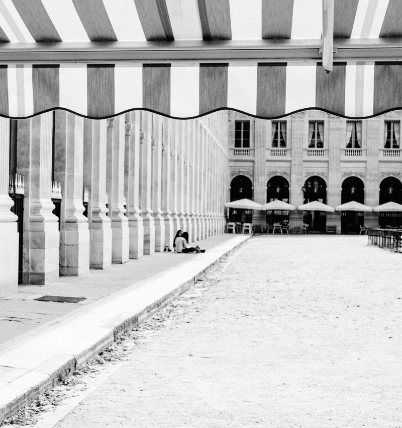 Paris Palais Royal Street Photography by Catherine Goron