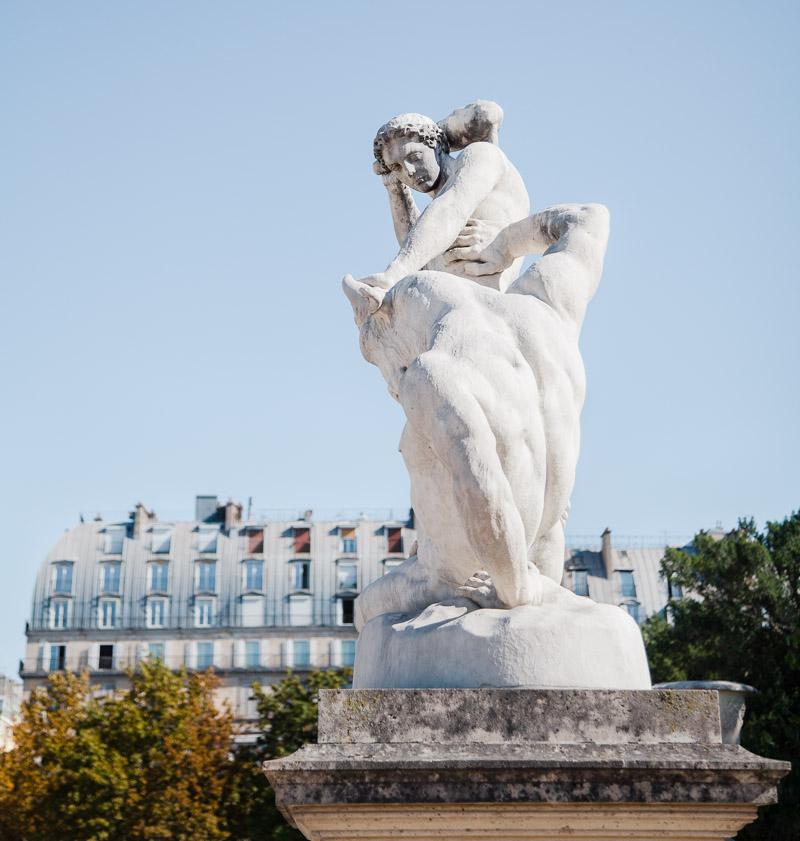 Paris Tuileries by Catherine Goron